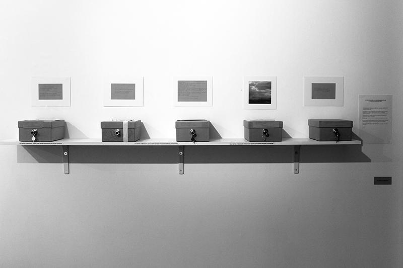 Olenka Carrasco-La multiplicite de lautofragmentation-Installation complete