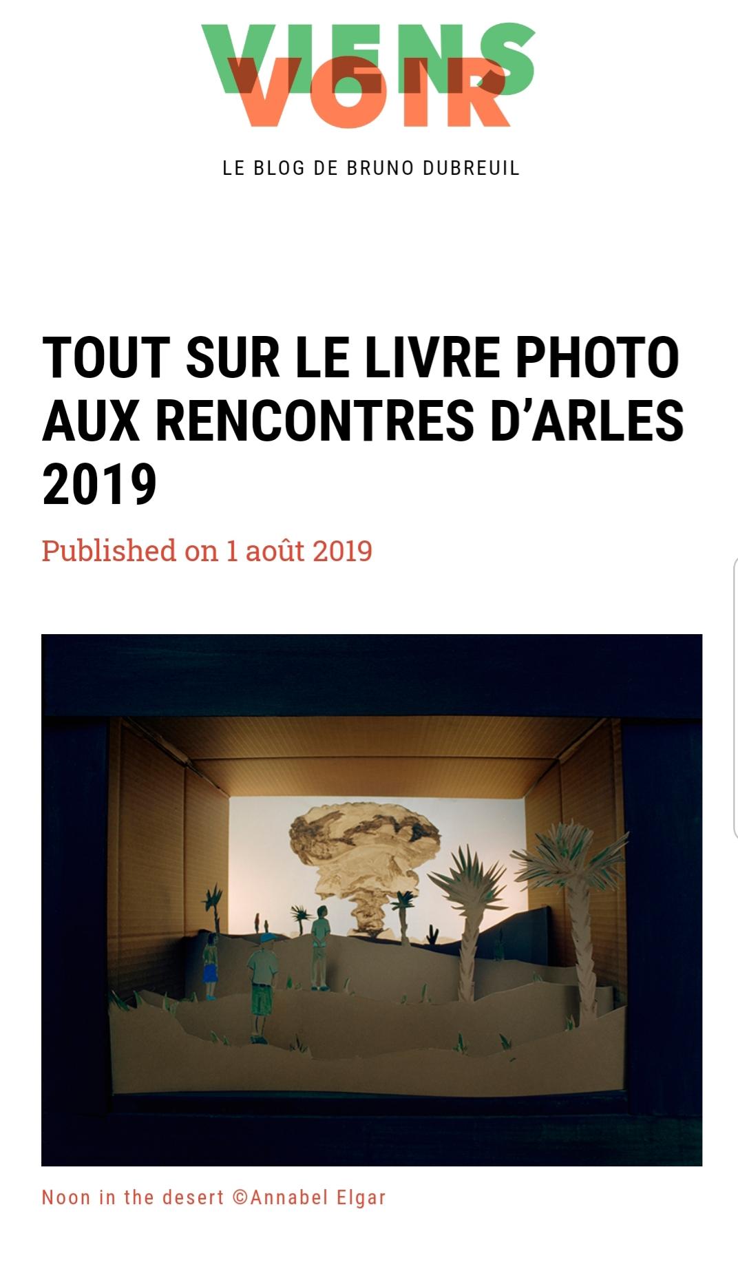 Oh my Photobook-Viens Voir-Olenka Carrasco-Arles2019