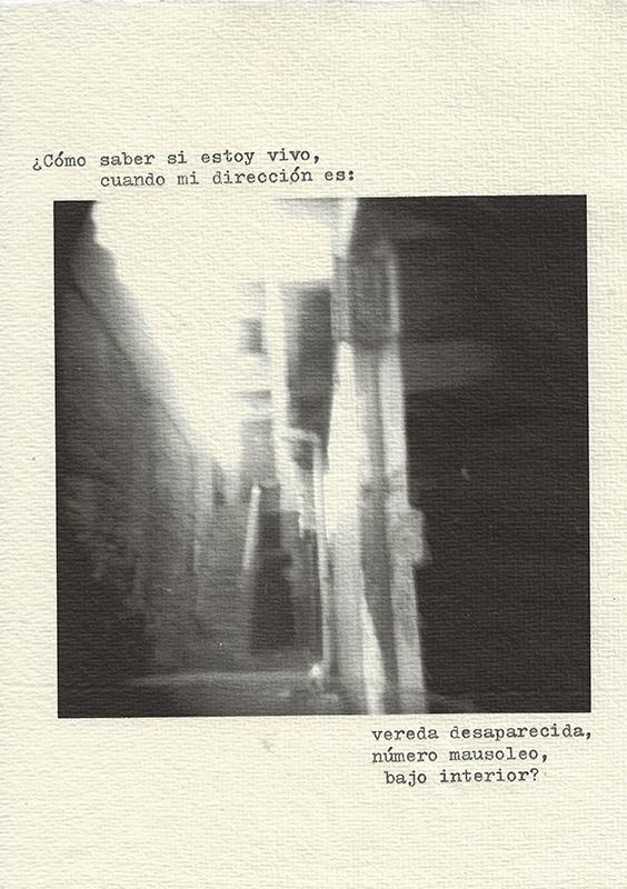 Olenka Carrasco-Cementerio Vivos-Direccion