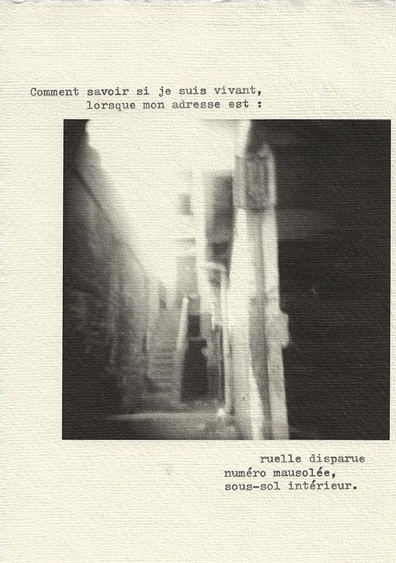 Olenka Carrasco-The Cemetery of the Living-Address